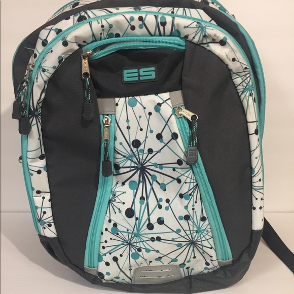 ES Handbags - ES full size backpack laptop bag